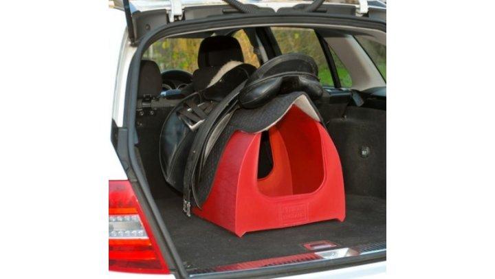 Transportabel sadelholder<br>