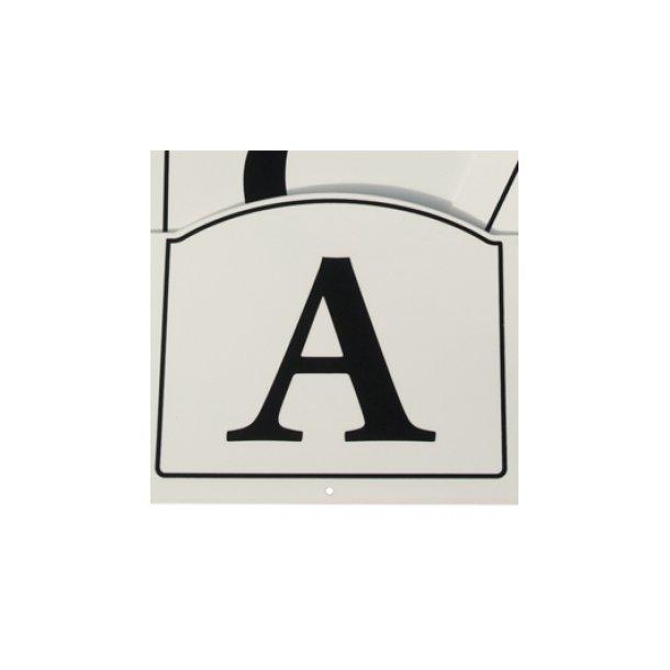 Dressur bogstaver til opsætning