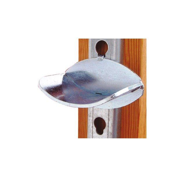 Bomholder i galv.laseskåret stål til18 mm nøglehul